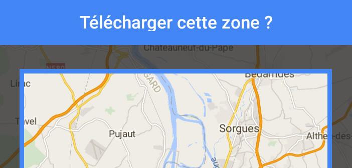 Profiter de l'appli Google Maps pour Android sans connexion internet