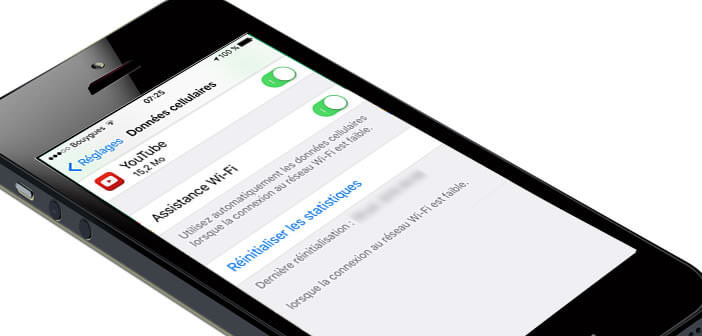 iPhone: Fonction Assistance Wi-Fi