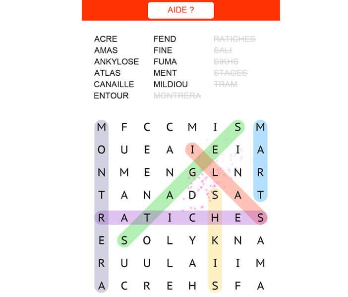 Jeux pour les amoureux de mots sur smartphone Android