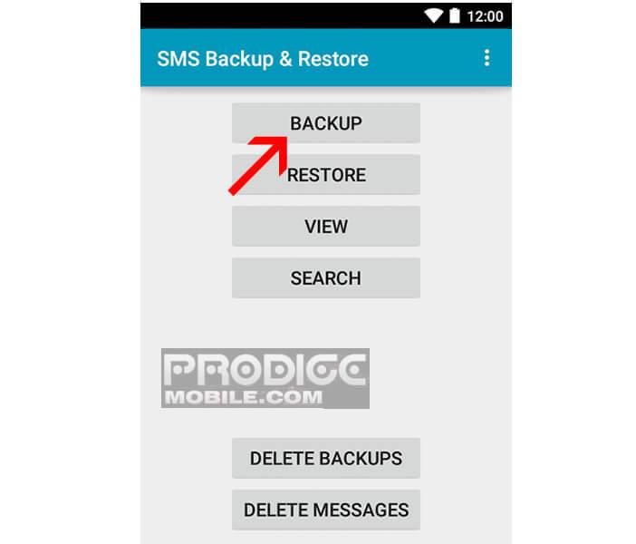 Sauvegarder les SMS et les MMS de votre smartphone Android