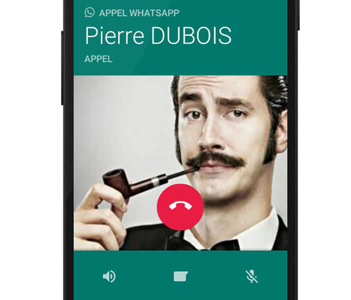 Activer service VoIP sur WhatsApp