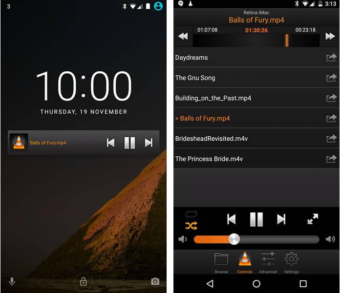 Transformer votre téléphone Android en télécommande pour VLC