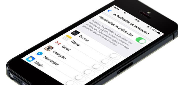 Empêcher l'actualisation en arrière plan de certaines applications