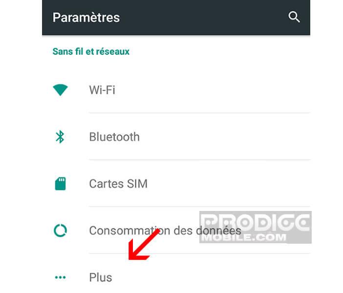 Paramétrer les appels HD sur Android Lollipop