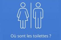 Appli Android pour localiser les toilettes publiques