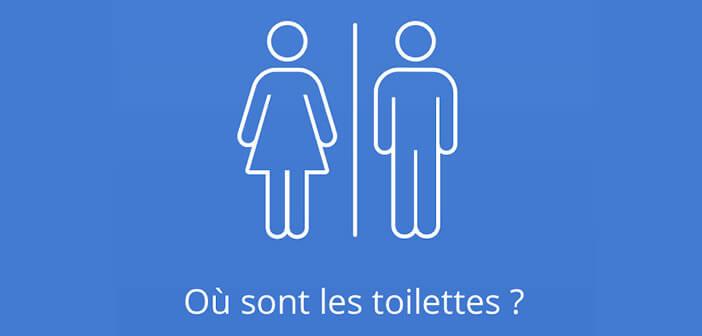Localiser les toilettes publiques sur une carte