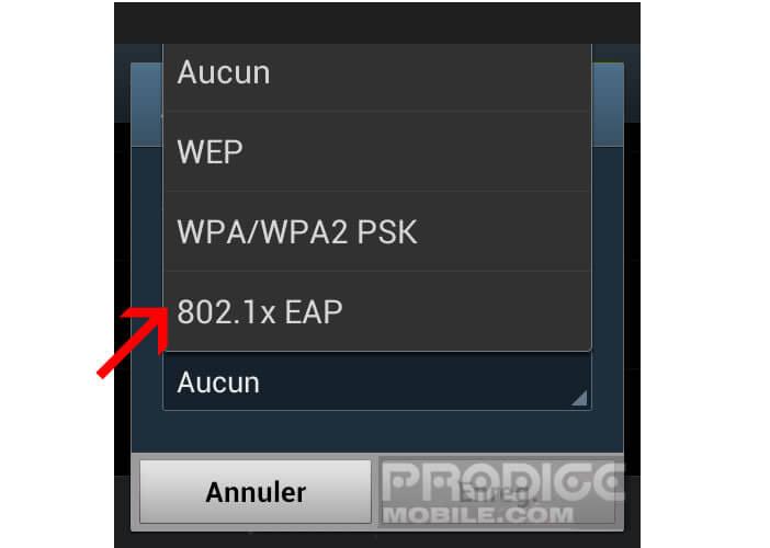 Vérifier la comptabilité de votre mobile au réseau FreeWifi Secure