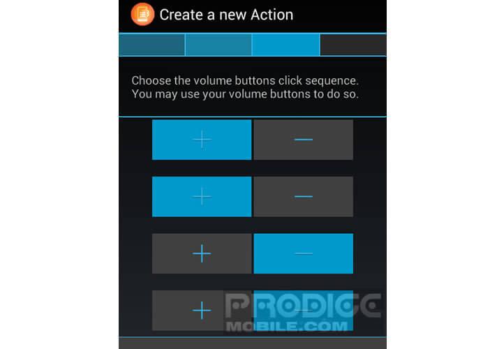 Appuyer sur les boutons de volume de votre terminal Android