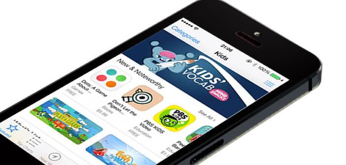 Mettre à jour le contenu de l'App Store sur un iPhone