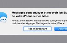 Consulter et rédiger vos SMS depuis un iPad ou un Mac