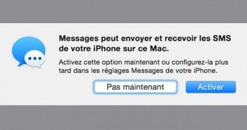 Consulter vos SMS sur un iPad ou un Mac
