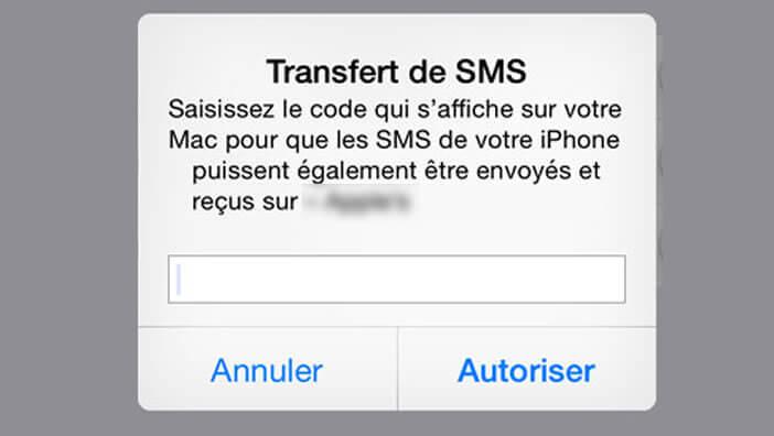 Transférer vos SMS iPhone vers un iPad, un iPod ou un Mac