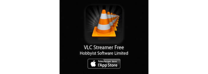 VLC Streamer Free disponible sur l'App Store