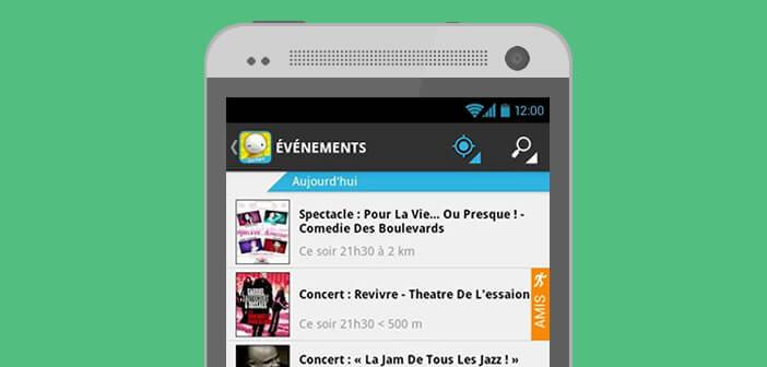 Application Balumpa recense tous les événements de votre ville