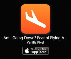 Application Crash avion à télécharger sur l'App Store