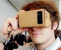 Lunette 3D google cardboard