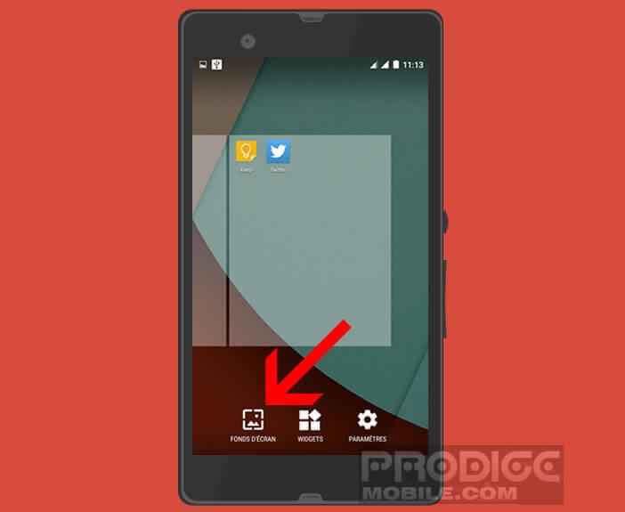 Modifier le fond d'écran animé de votre mobile Android
