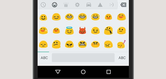 Utiliser les emojis sur un smartphone Android