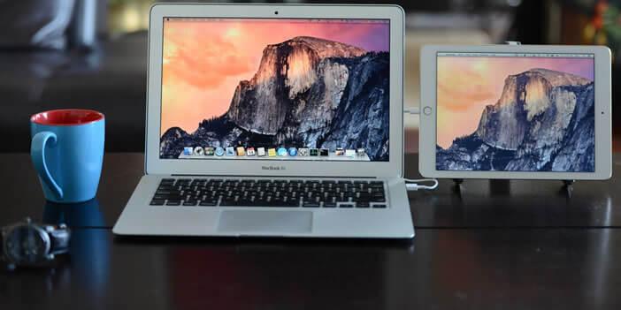 Etendre l'affichage de son ordinateur avec un iPad