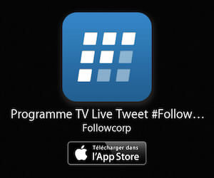 Followatch - application Tv live tweet
