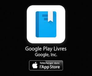 Google Play Livres pour iPhone