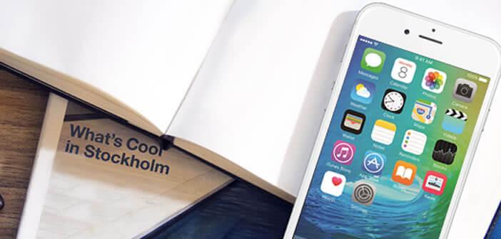 Supprimer les icônes des applis systèmes de l'iPhone