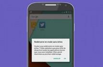 Supprimer une appli android malveillante en mode sans échec