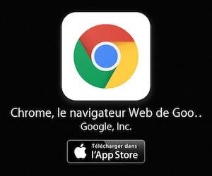 Télécharger le navigateur Chrome pour iPhone