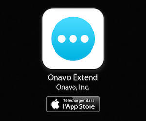 Application Onavo Extend à télécharger sur l'App Store