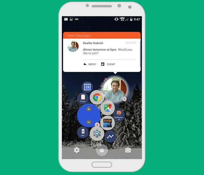 Répondre à vos messages sans même déverrouiller votre mobile