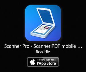 Scanneur Pro PDF pour iPhone