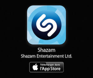 Application Shazam sur l'App Store d'Apple