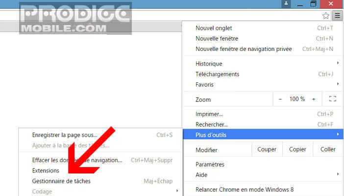 Installer une extension Chrome pour accéder aux signets de son iPhone