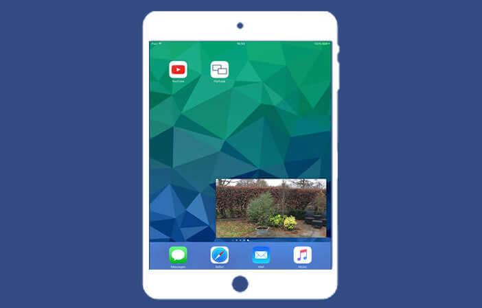 Vidéo YouTube en arrière-plan sur l'iPad