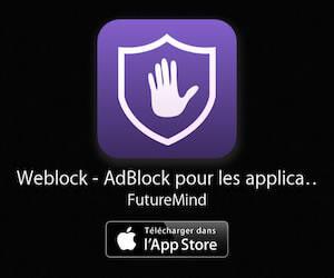 Weblock - AdBlock pour iPhone