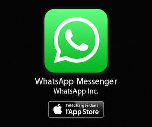 WhatsApp Messenger à télécharger sur l'App Store