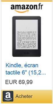 Liseuse Kindle de Amazon