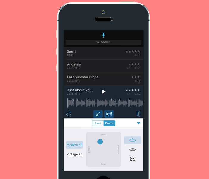 Enregistrer vos idées musicales avec Mémo musicale pour iPhone et iPad