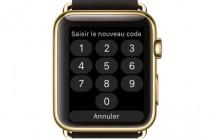 Protéger son Apple Watch avec un code de sécurité