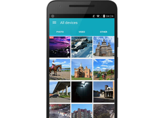 Daemon Sync, application cloud privé pour Android