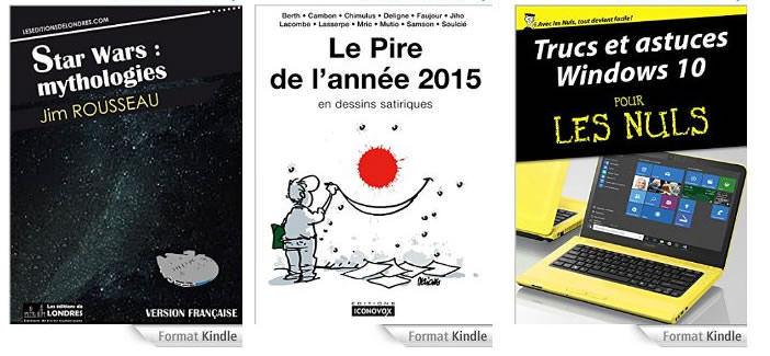 Ebooks gratuits accessibles sur Amazon