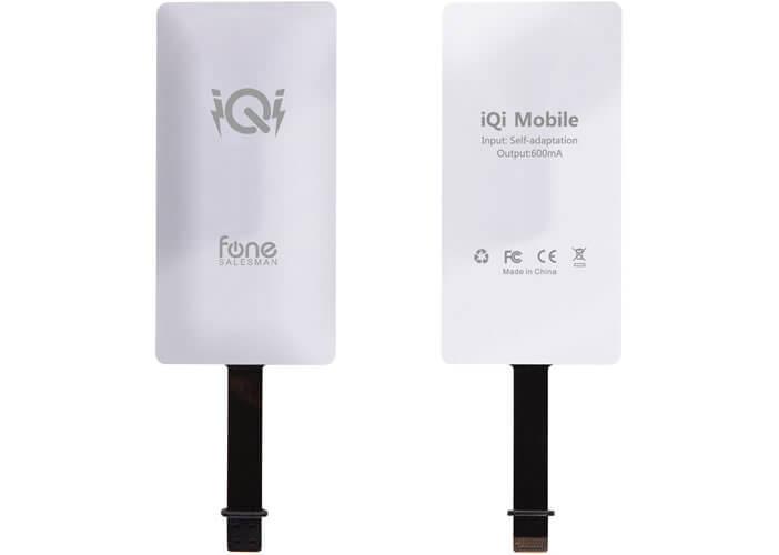 Récepteur de recharge pour iPhone iQi Mobile