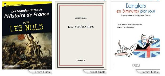 Télécharger des livres numériques gratuits depuis Amazon