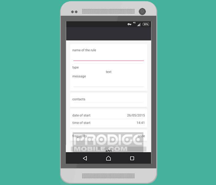 Planifier l'envoi de messages WhatsApp avec l'appli Seebye Scheduler