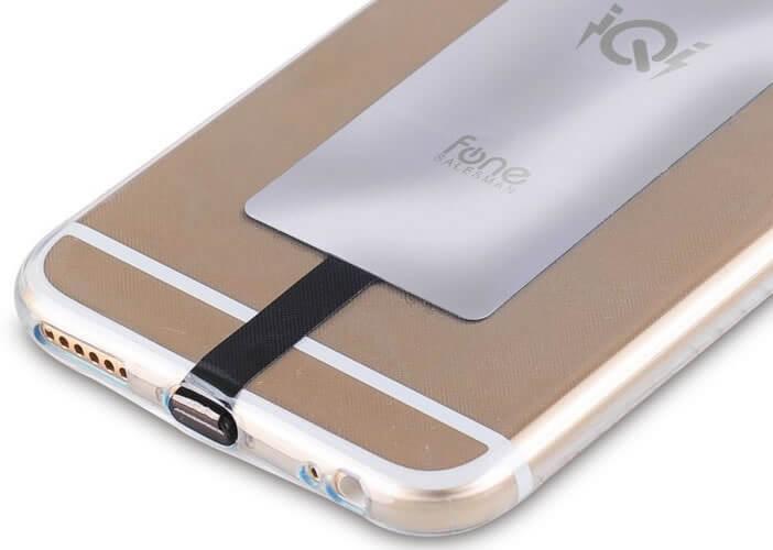 Le récepteur de recharge sans fil de l'iPhone