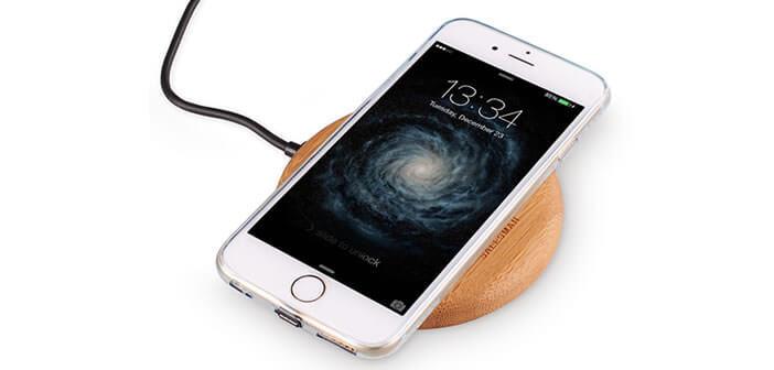 Système de recharge par induction pour iPhone