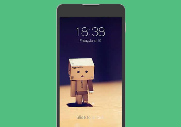 Personnaliser le wallpaper de l'écran de verrouillage Android