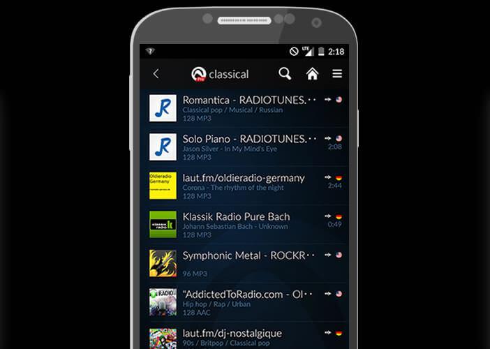 Une sélection de webradios musicales pour les smartphones Android