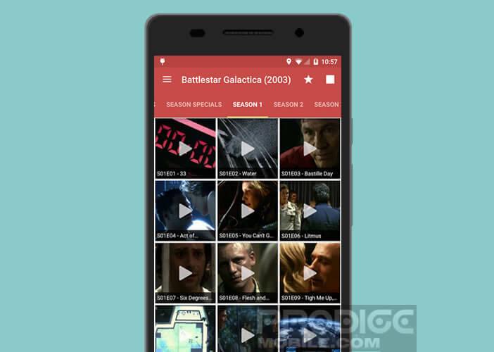 All Cast permet de diffuser les vidéos de votre smartphone sur l'écran de la TV