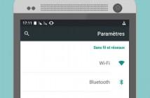 Activer le mode gaucher sur un smartphone Android